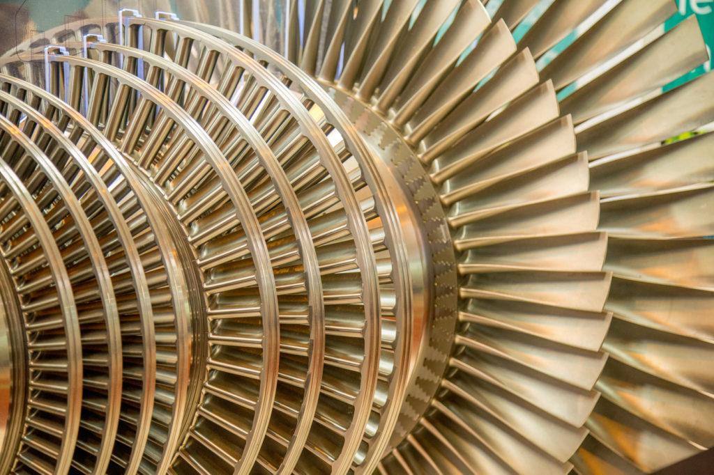 Turbina - wentylator przemysłowy